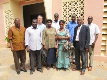 Caritas Mali and Caritas Bamako teams