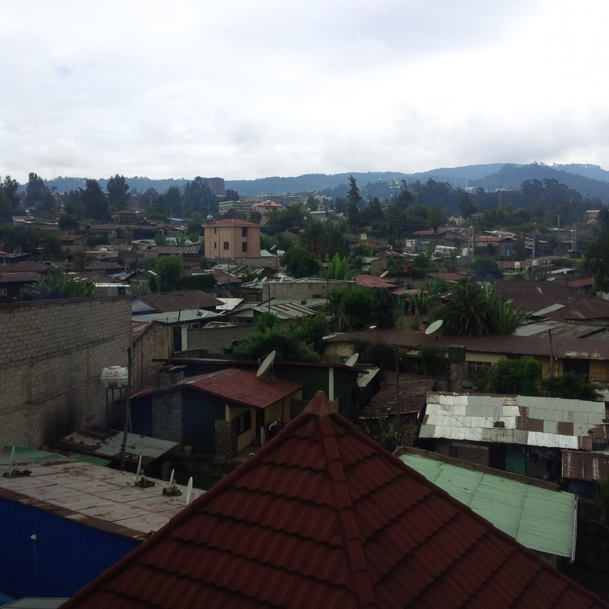 First Views of Addis Ababa