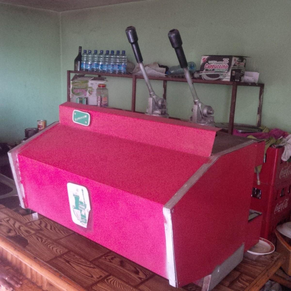 Alula's Coffee Machine
