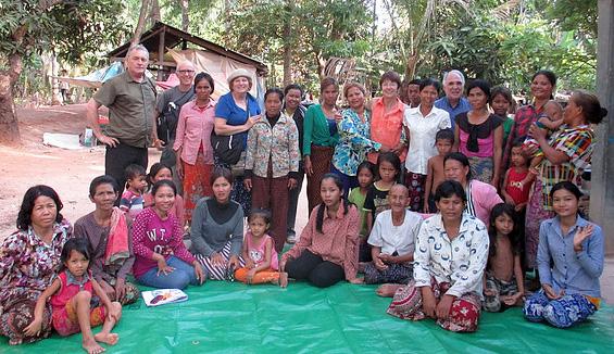 travaux de coopération à Cambodge