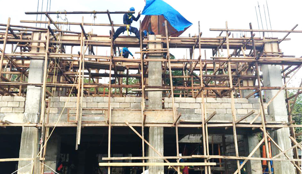 fondation en profondeur permet d'assurer la sécurité du bâtiment en cas de tremblement de terre
