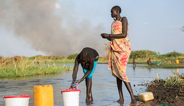 Violent clashes in Juba, the capital of South Sudan