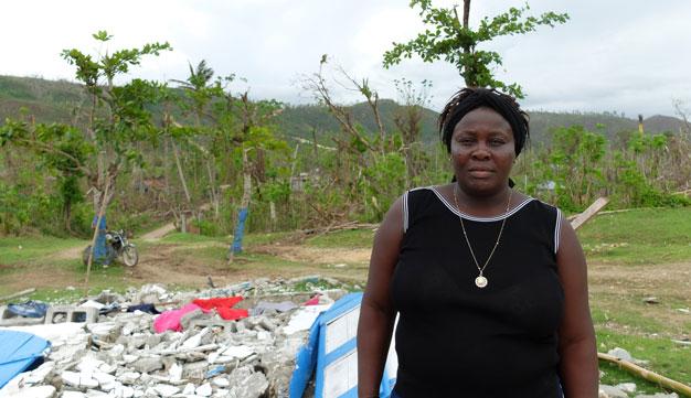 Les paysannes d'Haïti, actrices clés suite à l'ouragan