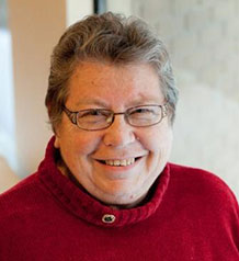 Marcella Pedersen, recipient of the Global Citizen Award from the Saskatchewan Council for International Cooperation