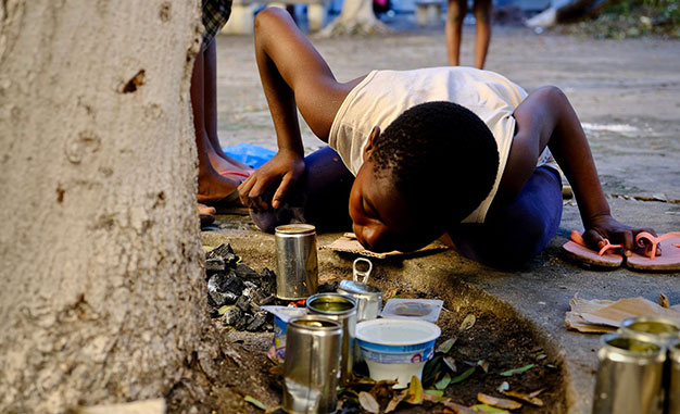 aide urgente - crise humanitaire mozanbique