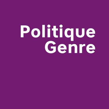 Lisez la Politique Genre